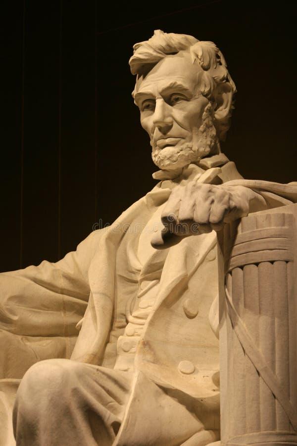 Monumento de Lincoln foto de archivo libre de regalías