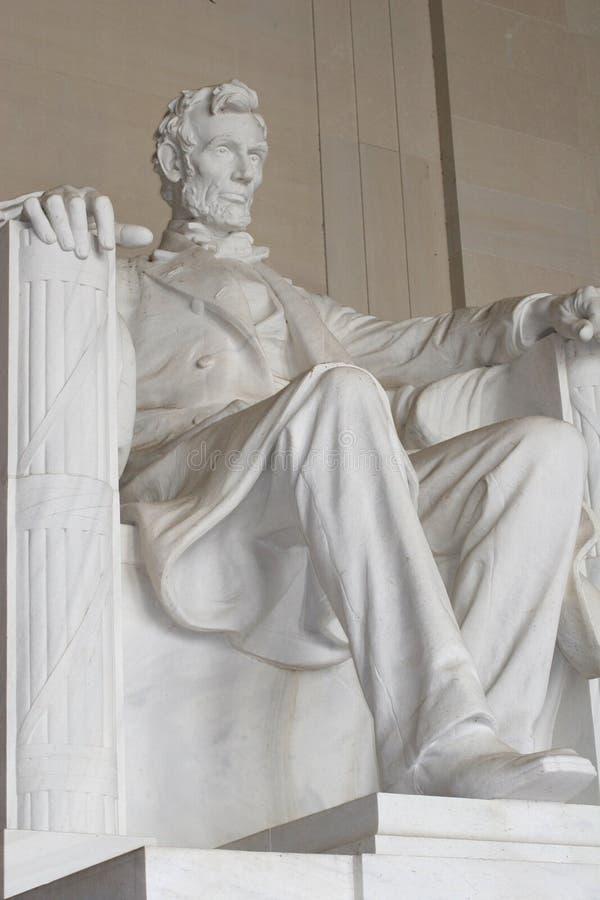 Monumento de Lincoln - Washington fotos de archivo libres de regalías
