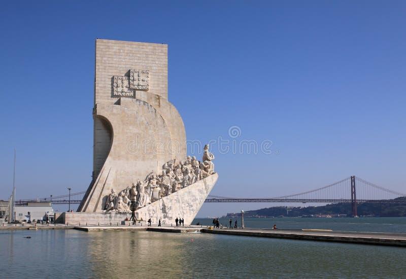Monumento de los descubrimientos fotografía de archivo libre de regalías