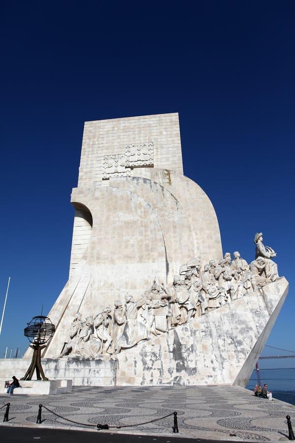 Monumento de los descubrimientos foto de archivo