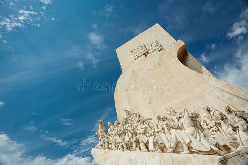 Monumento de los descubrimientos, Lisboa, Portugal foto de archivo libre de regalías