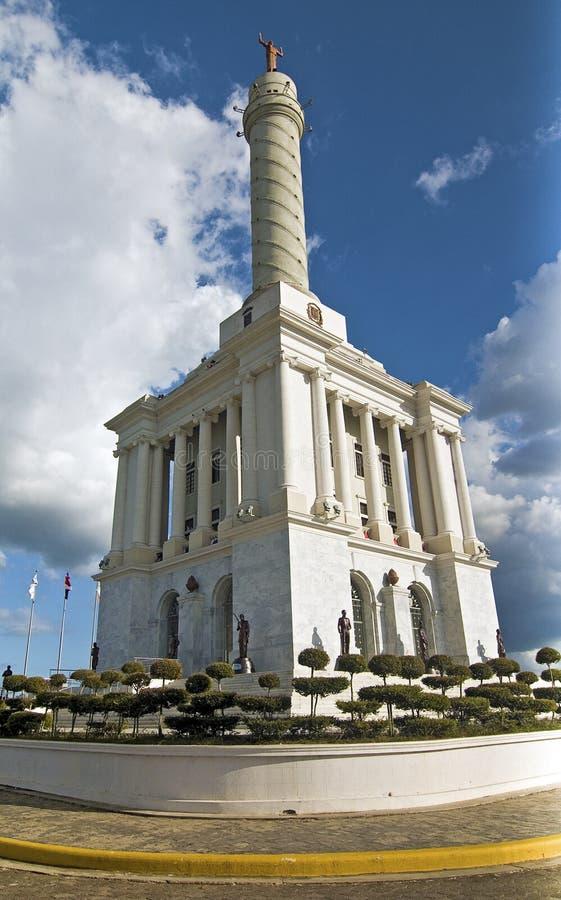 Monumento de los héroes, República Dominicana imagen de archivo