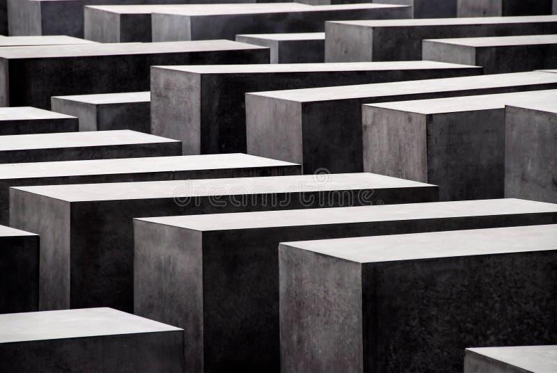Monumento de los judíos en Berlín fotografía de archivo libre de regalías
