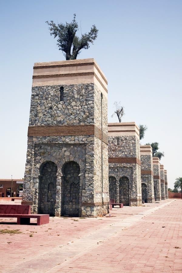 Monumento de Marrakesh imagenes de archivo