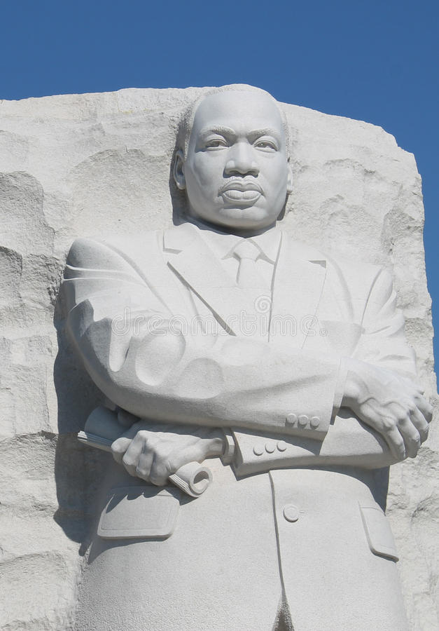 Monumento de Martin Luther King Jr. fotografia de stock royalty free