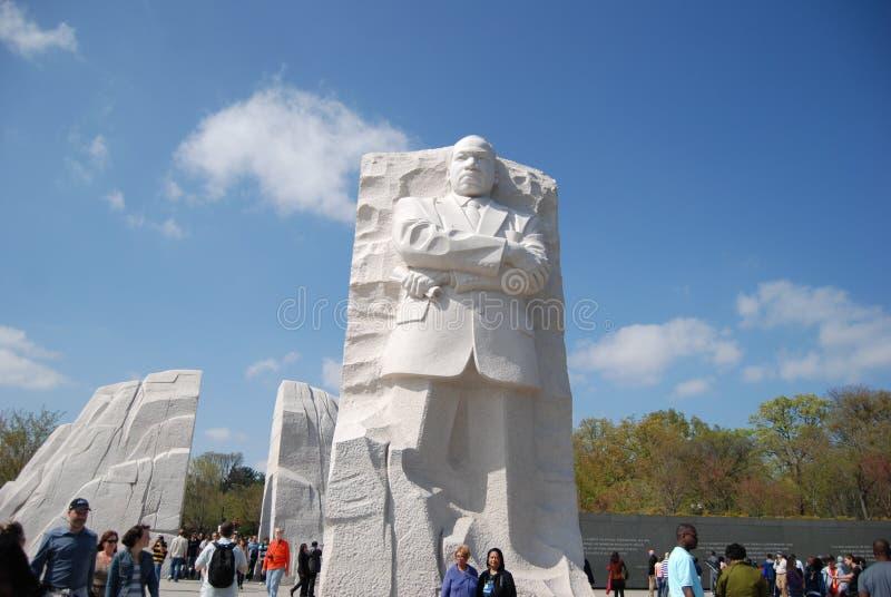 Monumento de Martin Luther King Jr. fotografía de archivo libre de regalías