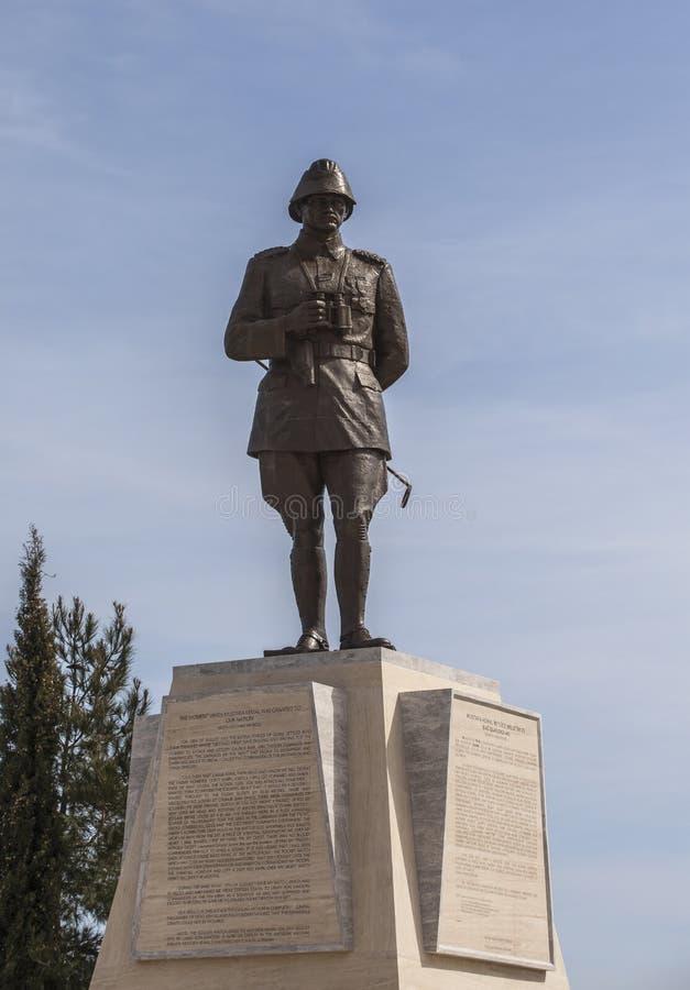 Monumento de Mustafa Kemal fotografia de stock