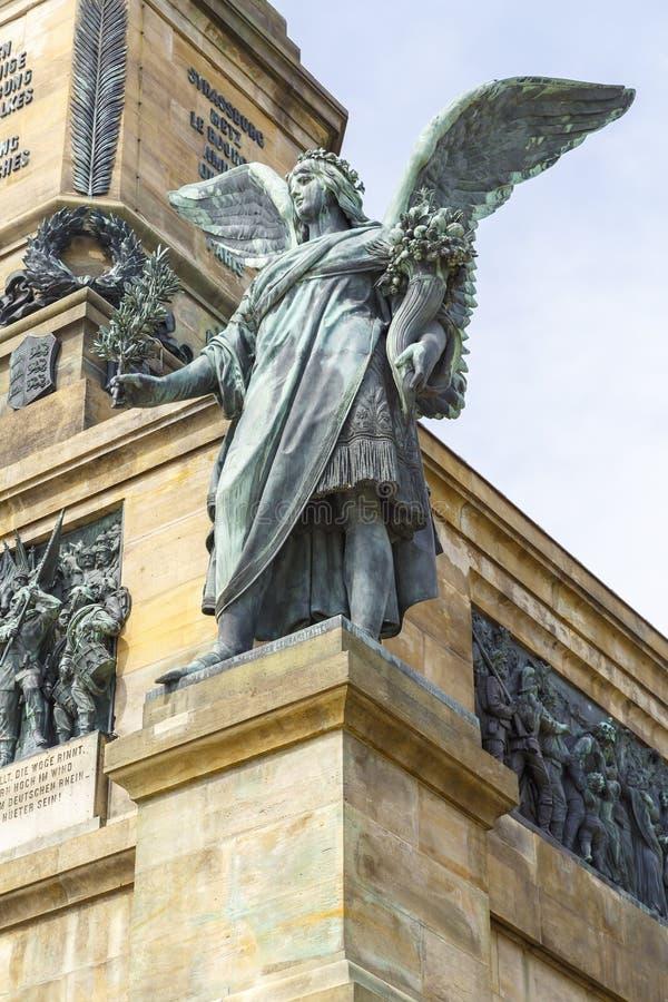 Monumento de Niederwald fotografia de stock
