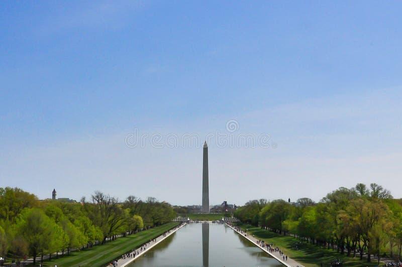 Monumento de Obelisco do Washington DC foto de stock royalty free