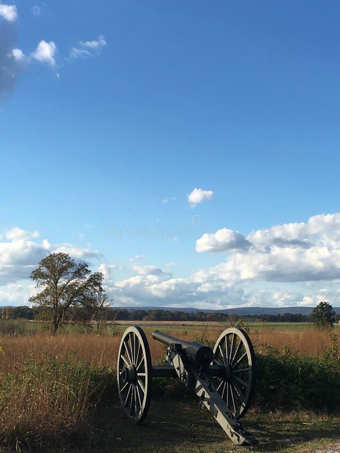 Monumento de Pensilvânia no campo de batalha Gettysburg de Gettysburg, Pensilvânia imagens de stock royalty free