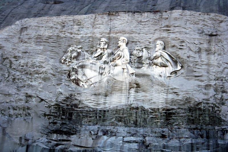 Monumento de piedra de la montaña fotos de archivo