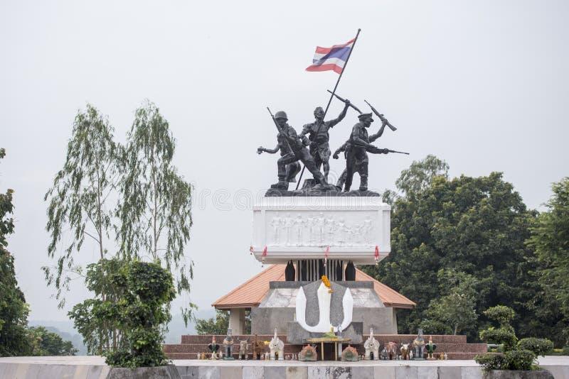MONUMENTO DE RAO SU DE TAILÂNDIA BURIRAM imagem de stock royalty free