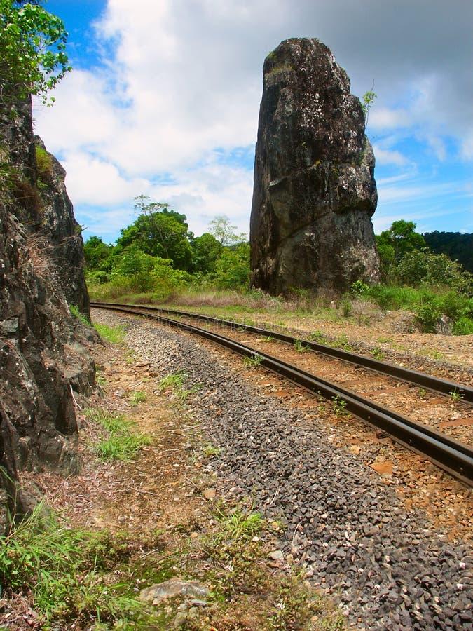 Monumento de Robbs - Queensland, Australia foto de archivo