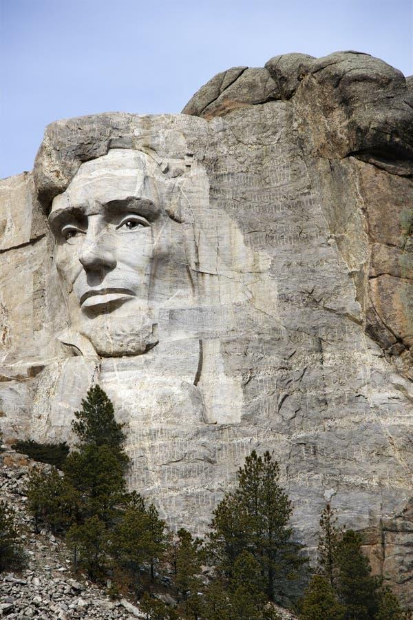 Monumento de Rushmore da montagem. imagem de stock royalty free