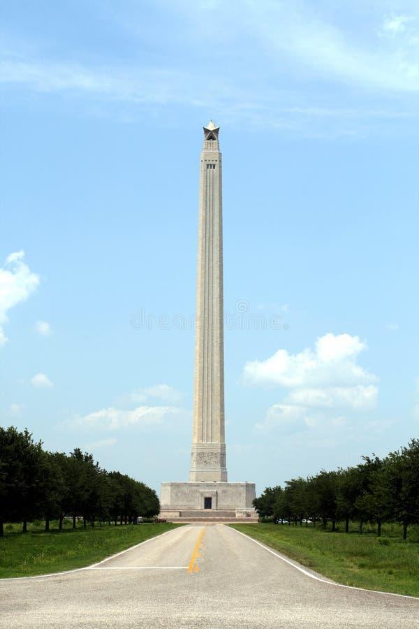 Monumento de San Jacinto fotos de stock