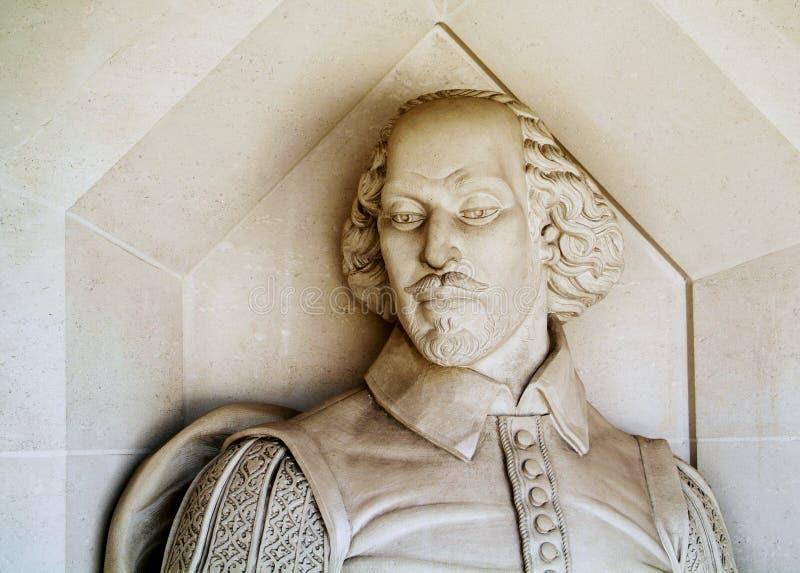 Monumento de Shakespeare foto de stock royalty free