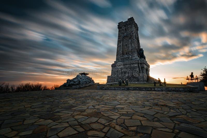 Monumento de Shipka foto de stock royalty free