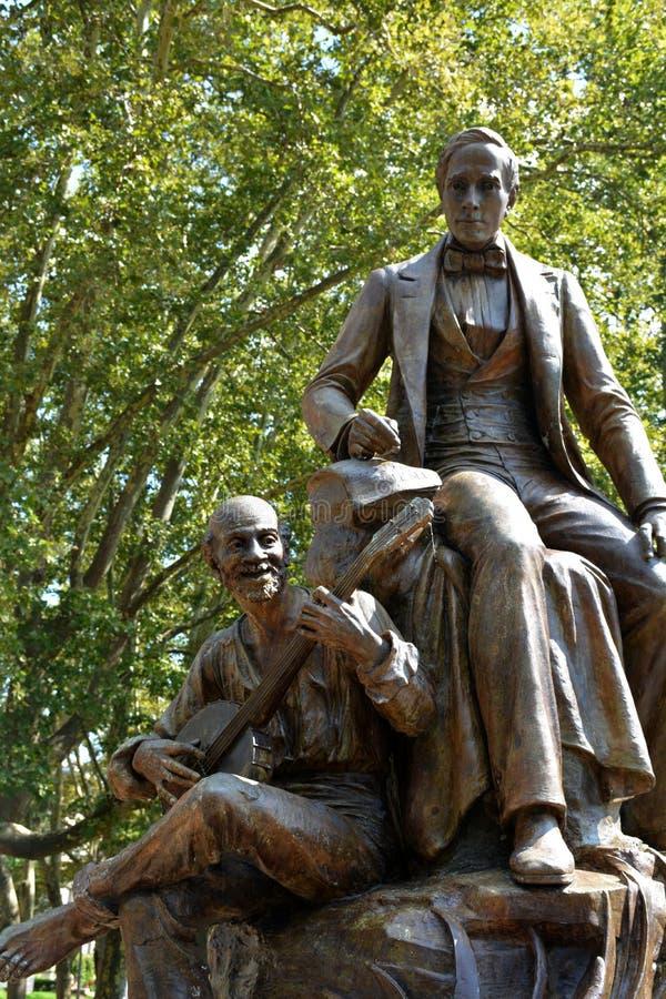 Monumento de Stephen Foster foto de archivo