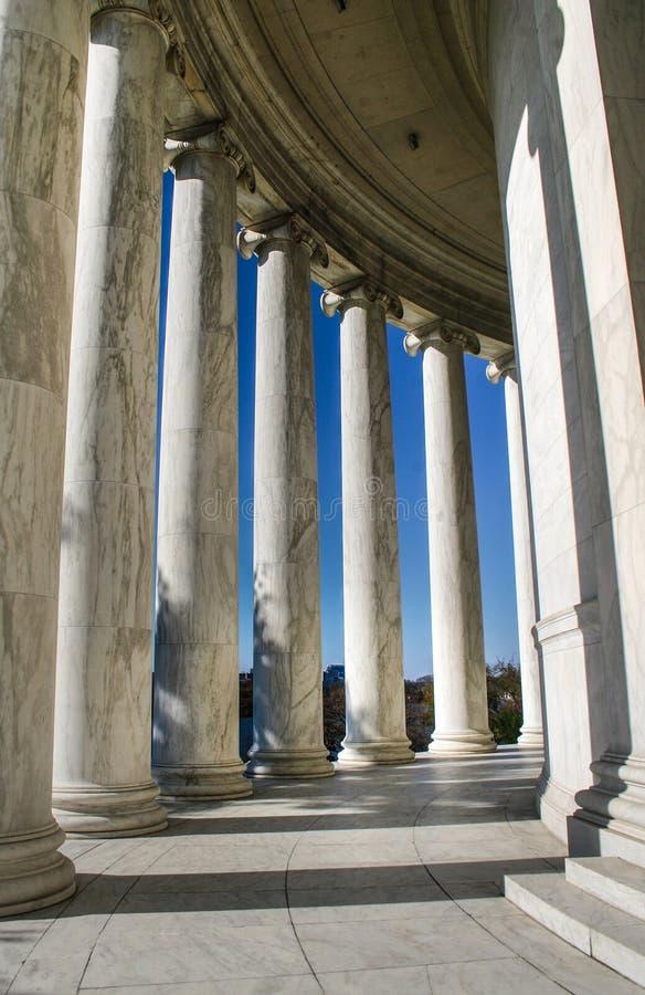 Monumento de Thomas Jefferson foto de archivo libre de regalías