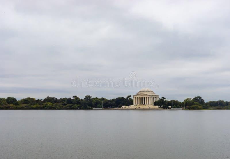 Monumento de Thomas Jefferson en Washington DC foto de archivo libre de regalías