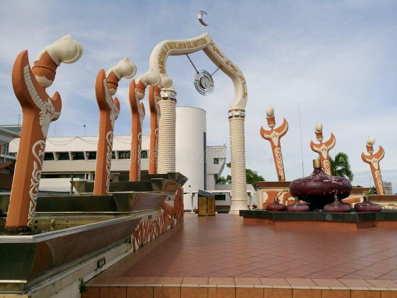 Monumento de Tutong fotografia de stock royalty free