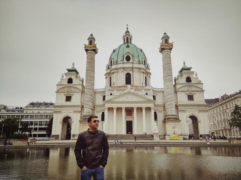 Monumento de Viena foto de stock
