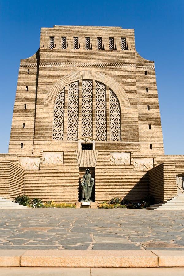 Monumento de Voortrekker imagens de stock