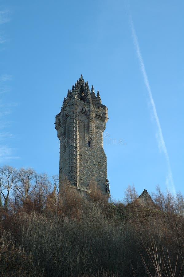 Monumento de Wallace imagen de archivo