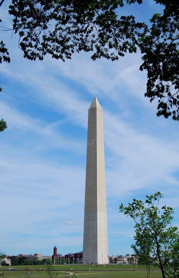 Monumento de Washington foto de stock