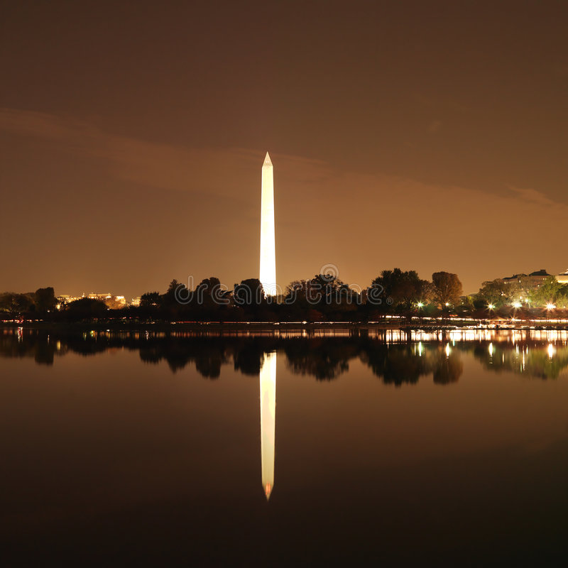 Monumento de Washington en Washington, C.C., los E.E.U.U. fotos de archivo libres de regalías