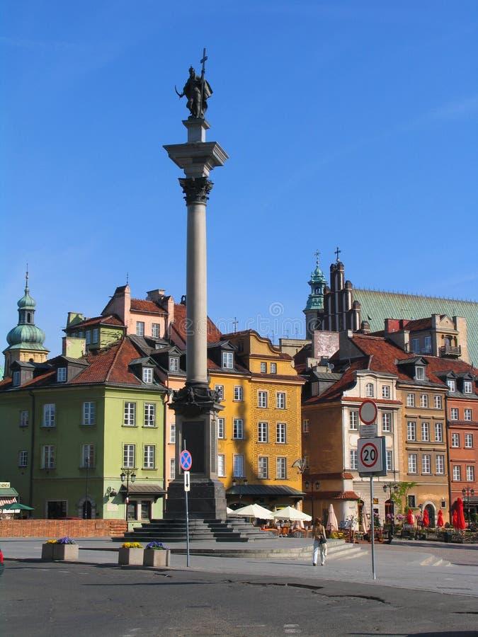 Monumento de Zygmunt III Waza imagem de stock royalty free
