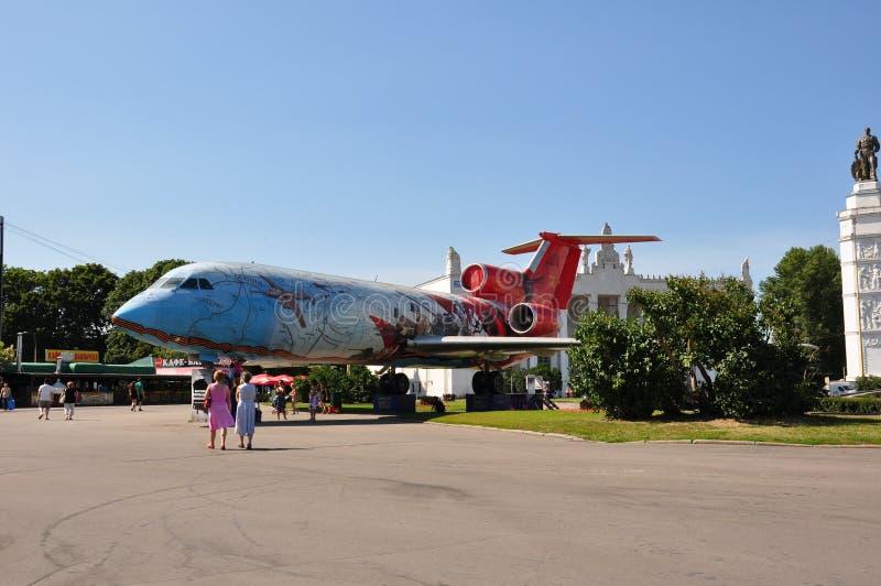Monumento degli aerei fotografia stock