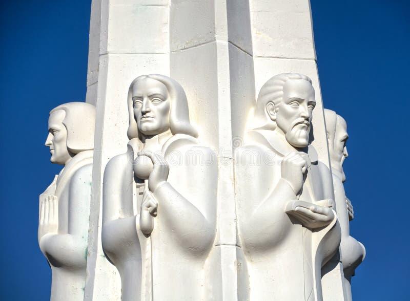 Monumento degli astronomi immagini stock