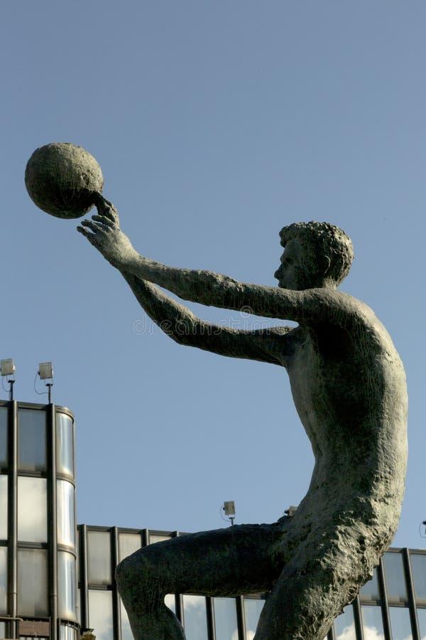 Monumento del ‡ dell'en PetroviÄ del ¾ di DraÅ a Zagabria, Croazia fotografie stock
