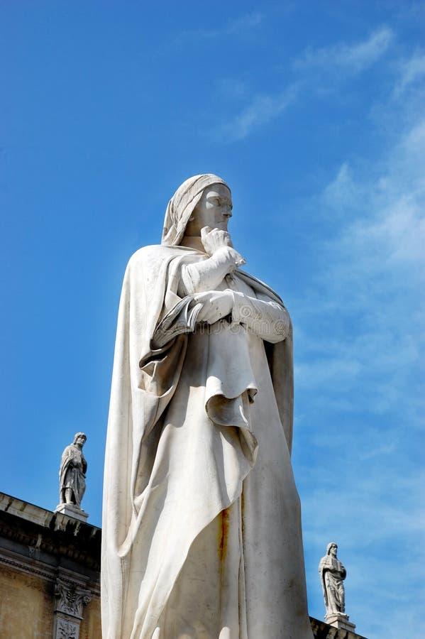 Monumento del Dante fotografia stock libera da diritti