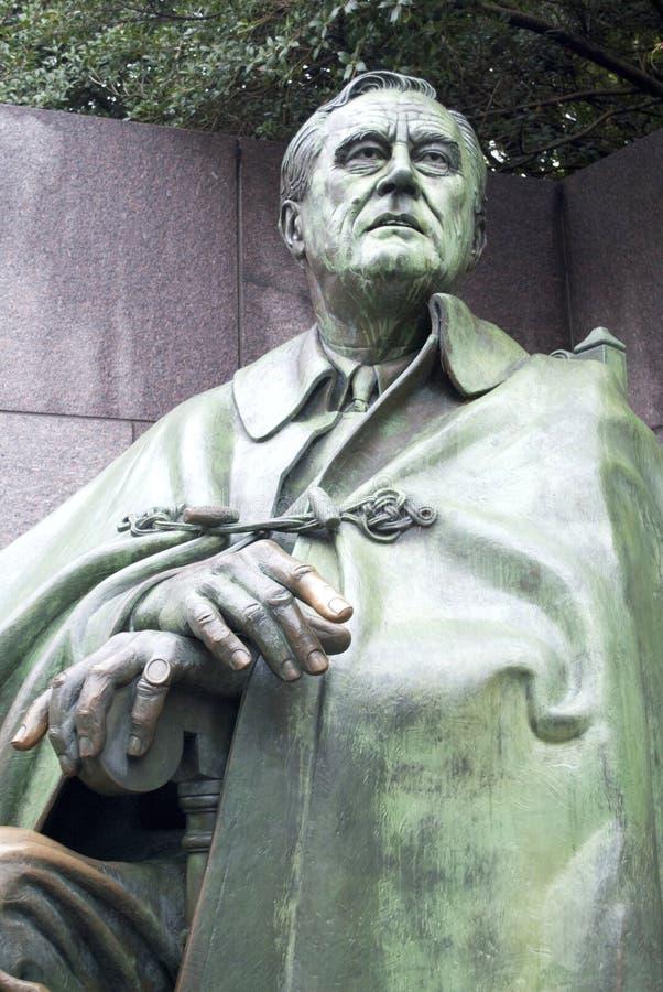 Monumento del FDR imagen de archivo