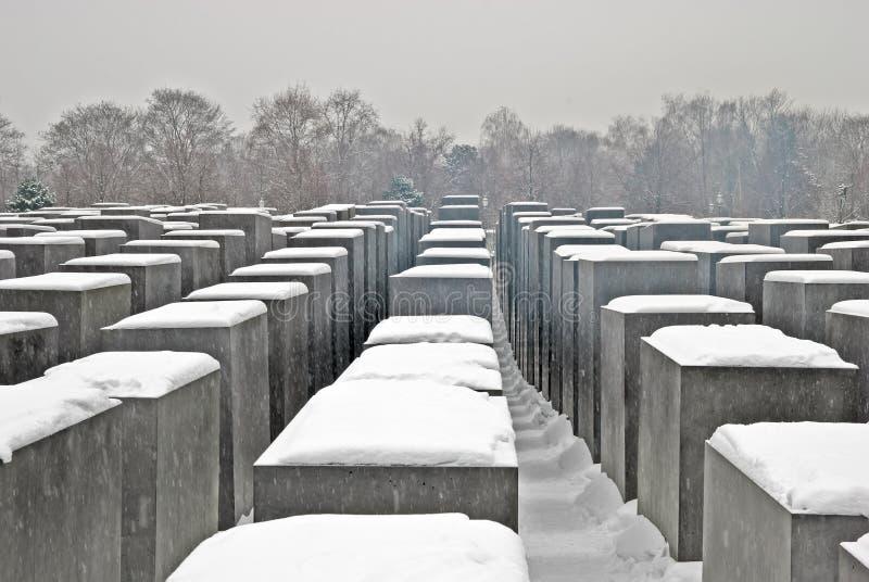 Monumento del holocausto, Berlín fotografía de archivo libre de regalías