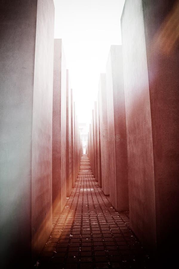 Monumento del holocausto, Berlín fotos de archivo libres de regalías