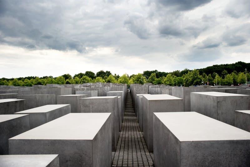 Monumento del holocausto en Berlín, Alemania imagen de archivo