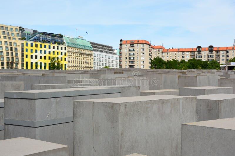 Monumento del holocausto también conocido como monumento a los judíos asesinados de Europa, Berlín, Alemania fotos de archivo libres de regalías