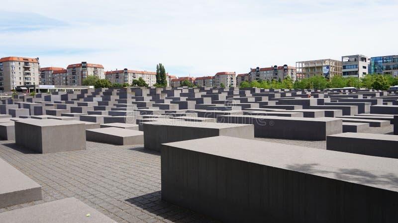 Monumento del holocausto también conocido como monumento a los judíos asesinados de Europa, Berlín, Alemania imagen de archivo