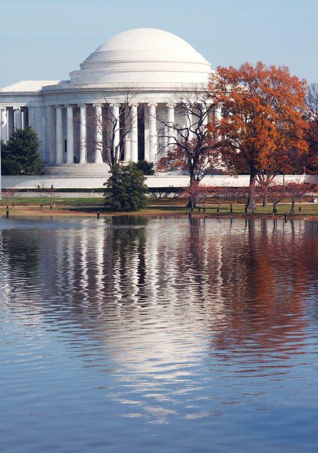 Monumento del Jefferson fotografia stock libera da diritti
