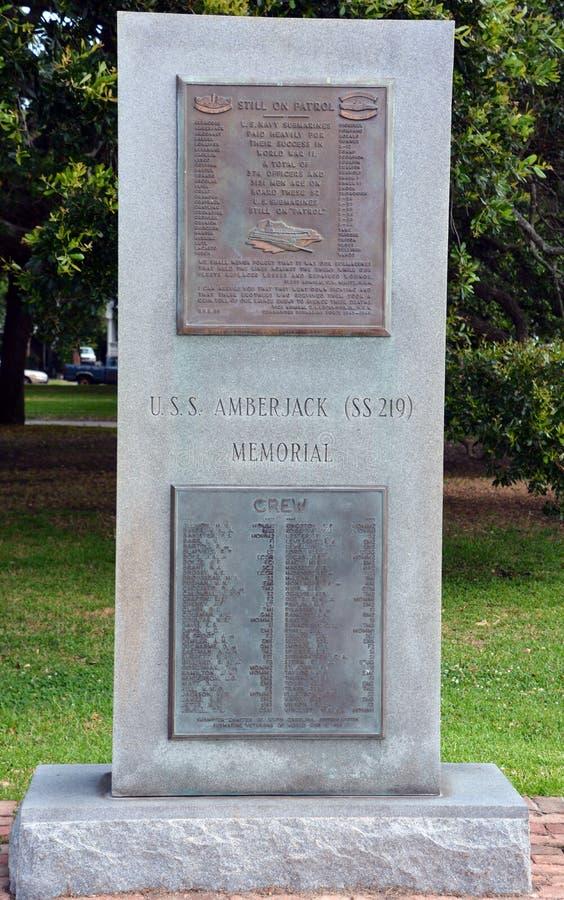 Monumento del medregal de USS fotos de archivo libres de regalías