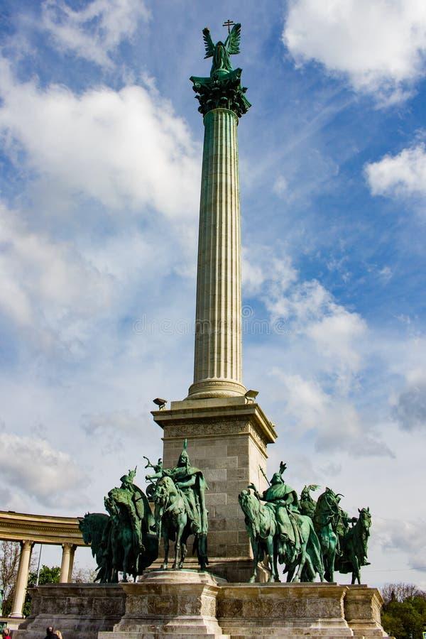 Monumento del milenio - Monumento del Milenio fotografía de archivo libre de regalías