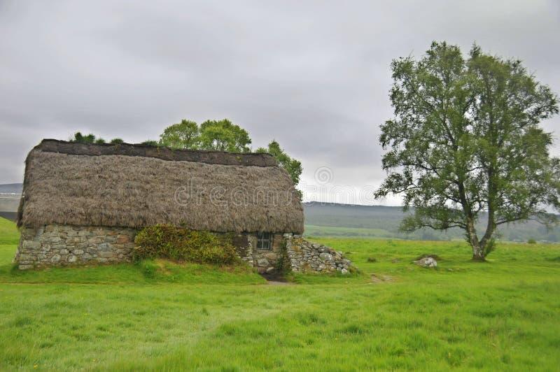 Monumento del monumento del campo de batalla de Culloden imagen de archivo libre de regalías