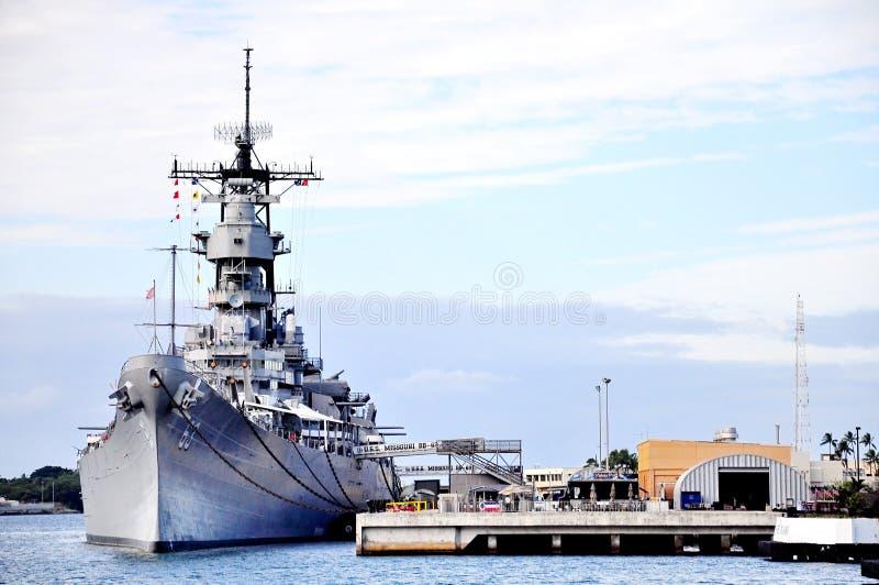 Monumento del Pearl Harbor foto de archivo libre de regalías
