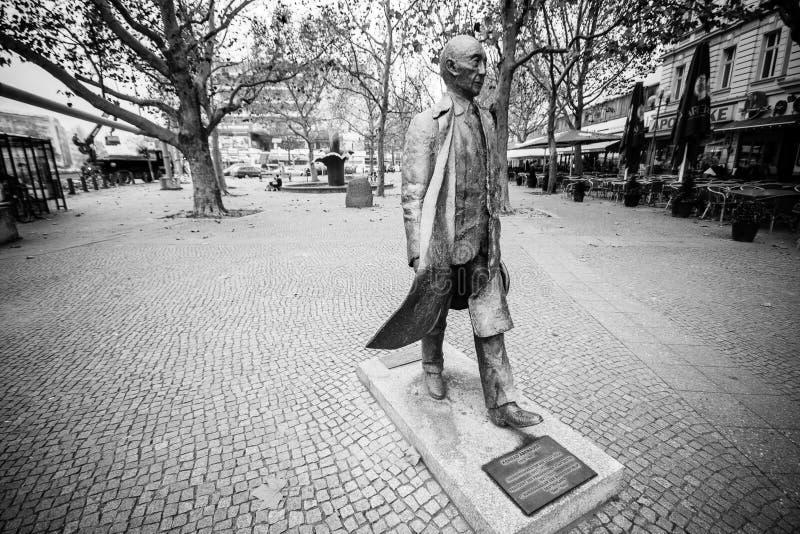 Monumento del primo cancelliere tedesco Konrad Adenauer fotografia stock