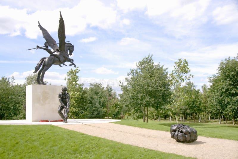 Monumento del regimiento del paracaídas imagen de archivo libre de regalías