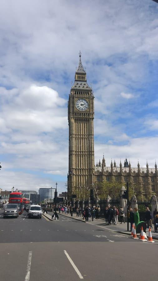Monumento del reloj de Big Ben imágenes de archivo libres de regalías