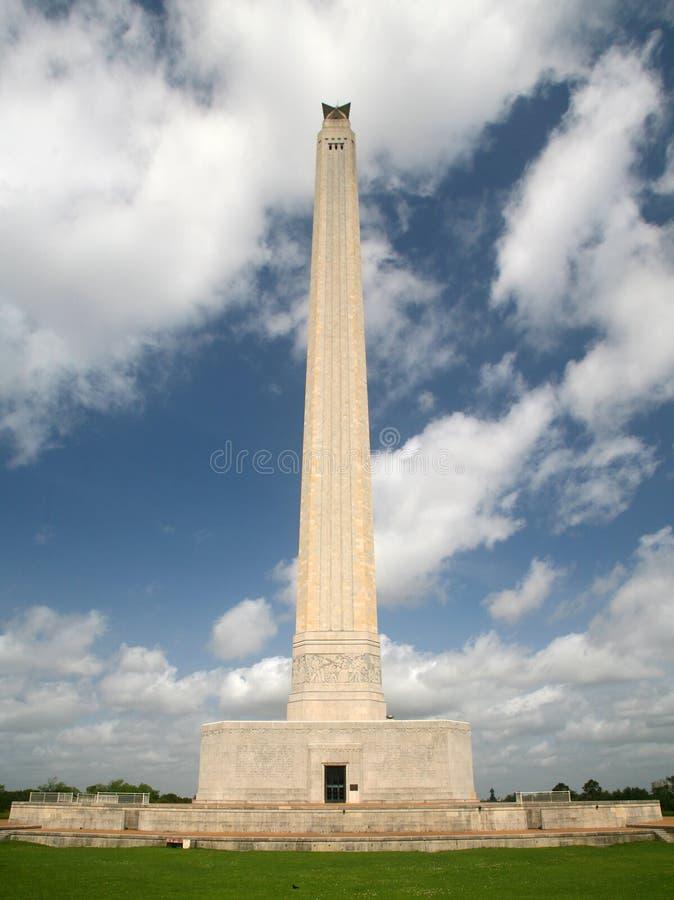 Monumento del San Jacinto fotografie stock libere da diritti